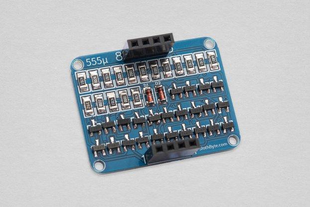 The 555 Micro - SMD Discrete 555 Timer Kit
