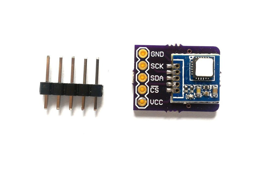 Si7005 temperature, humidity sensor breakout board 1
