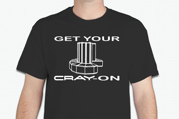 """Get Your Cray-On"" T-Shirt"