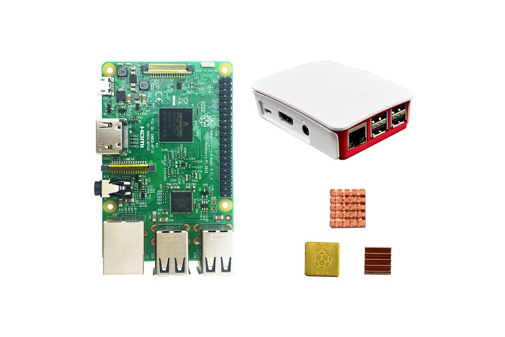 Raspberry Pi 3 Starter Kit 1