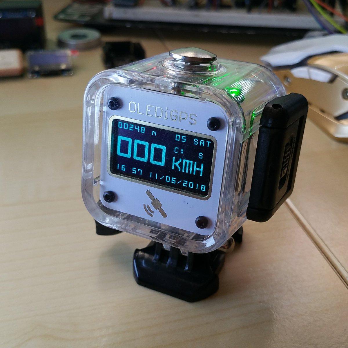 Olediuno Gps Cube From Phoenix Cnc On Tindie Volt Meter Small Digital Led Display Charging Circuit Monitor Ebay