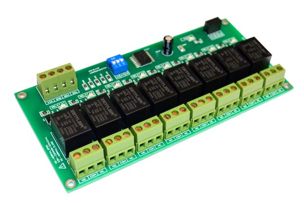 8 Channel I2C Electromagnetic Relay Module