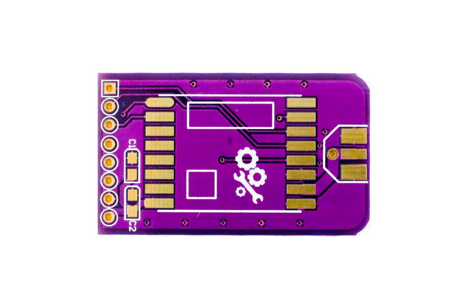Slim RFM69HW Wirless Breakout Board PCB