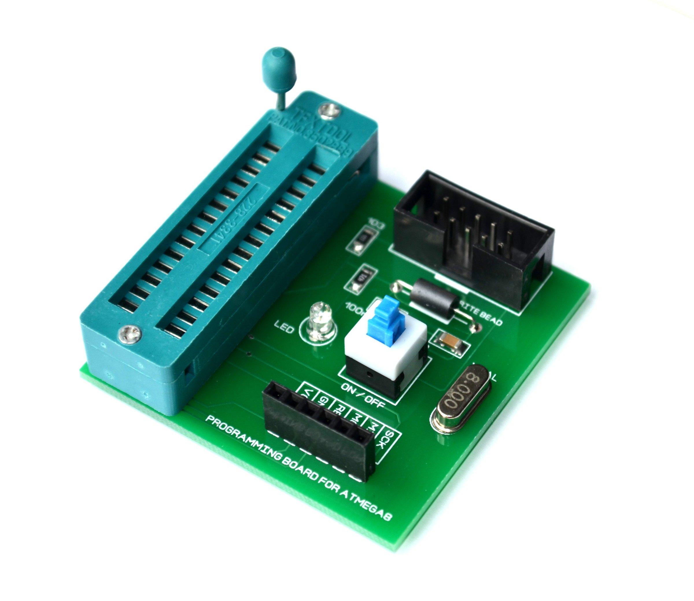 Atmel Avr Programming Board Isp From Krida Electronics On Tindie Usb Programmer Using Atmega8 1