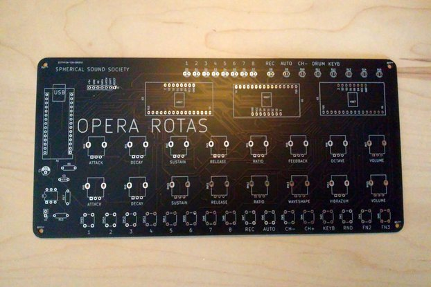 OPERA ROTAS, Mutant FM Drum Machine