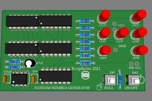 Random Num. Generator / Dice soldering KIT