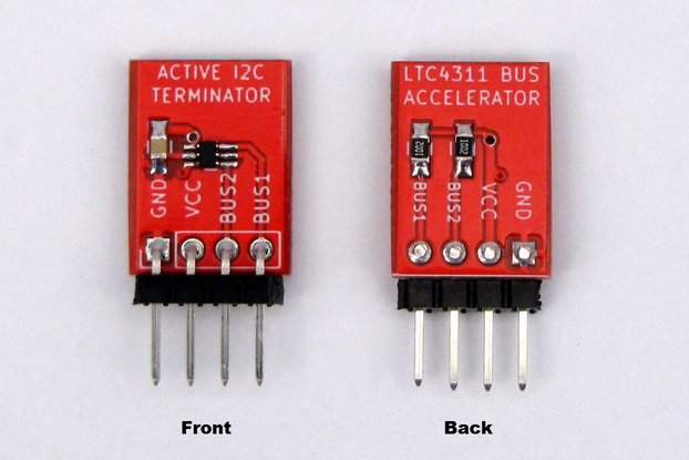 Breadboard I2C Active Terminator LTC4311