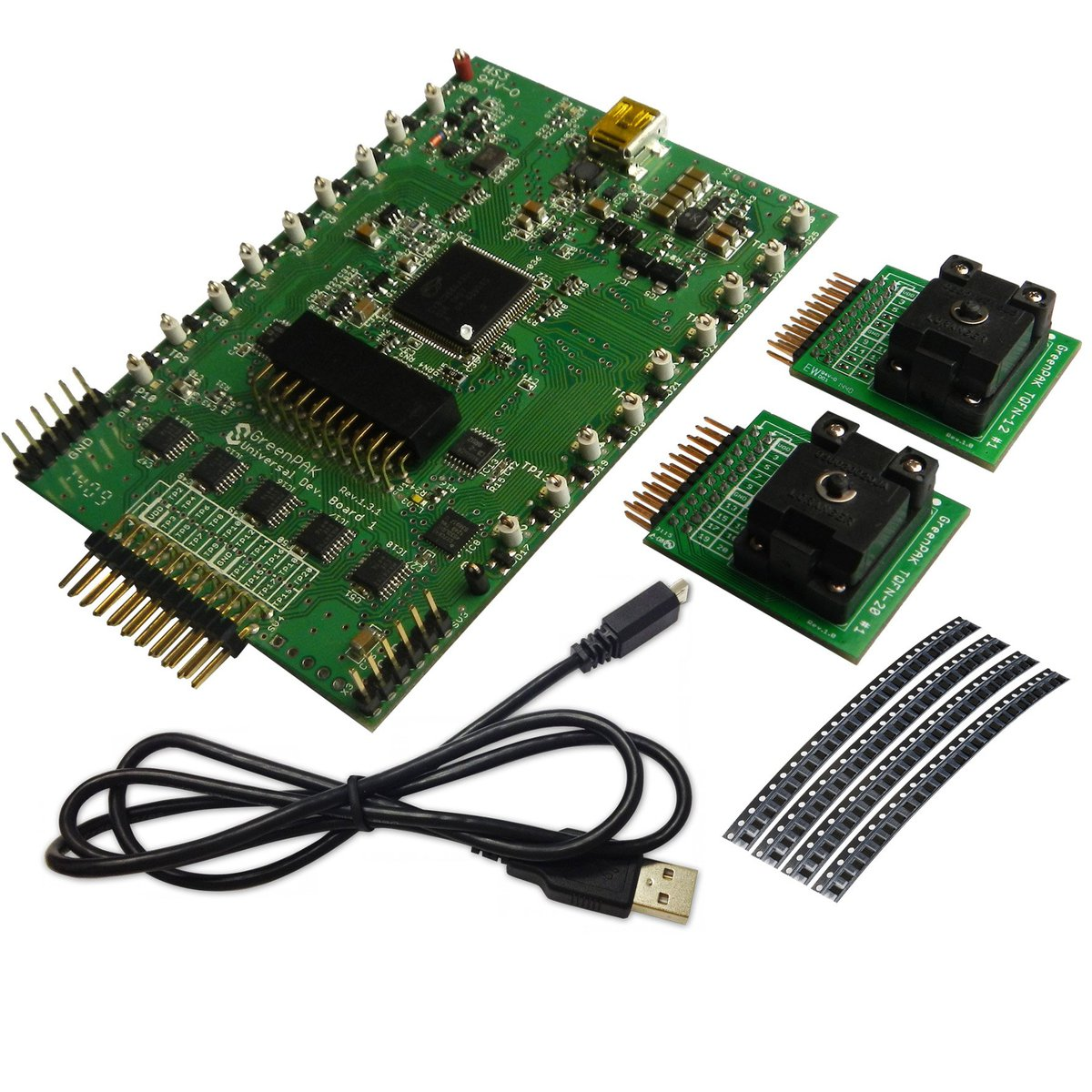 Greenpak 3 Development Kit From Silego Technology On Tindie Integrated Circuit Sales Providing Programmable