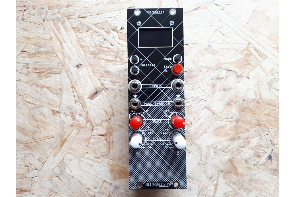 MicroScope - Eurorack oscilloscope module Kit- 8HP 1