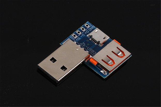 5PCS ZK-USB3 Interface Converter (13440)