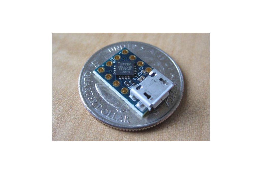 MicroFTX USB-Serial Breakout 1