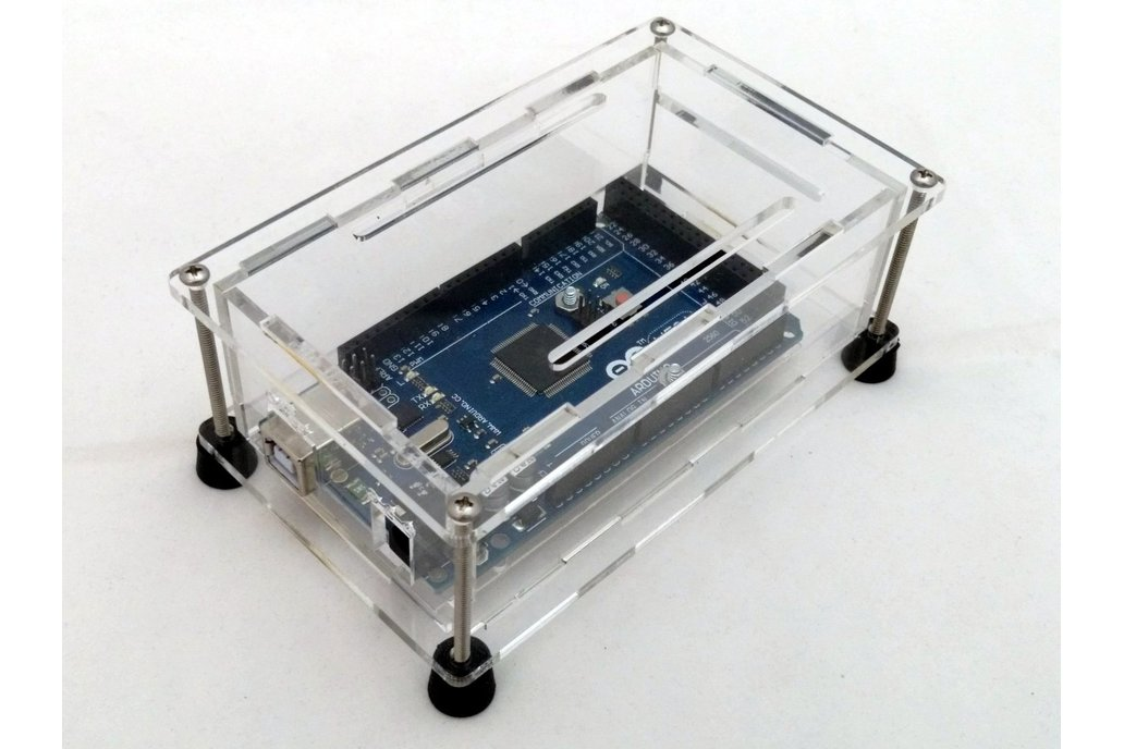 Acrylic Enclosure Kit for Arduino Mega 1