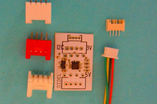 AdaI2C    Simple I2C 3/5V adapter