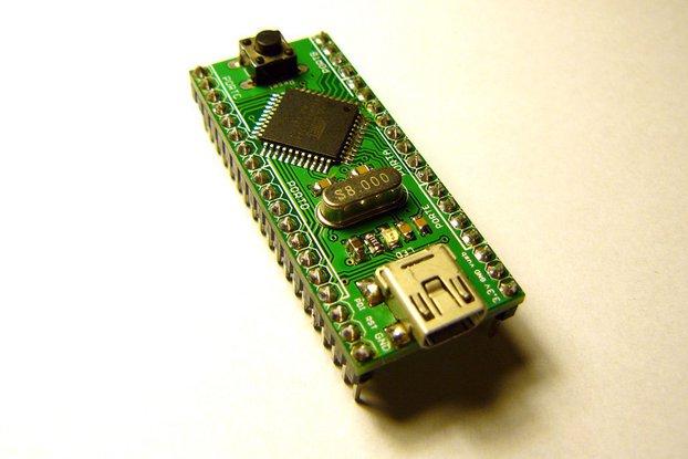 AVR Xmega Developeboard (breadboard)
