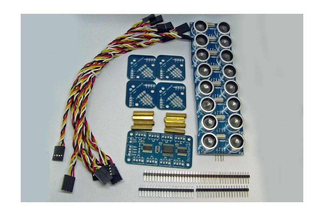 Octosonar - connect 8 x HC-SR04 to Arduino 3