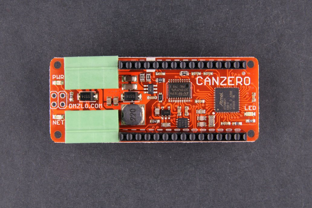 CANZERO, the wired IoT Arduino-compatible node. 1