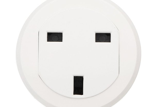 UK Standard Smart WiFi Socket Round Wifi Socket