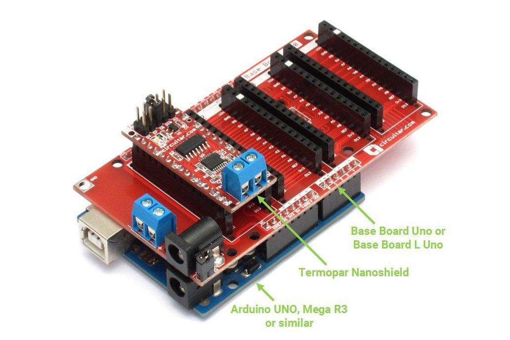 Termopar Nanoshield - MAX31856 Thermocouple Module 2