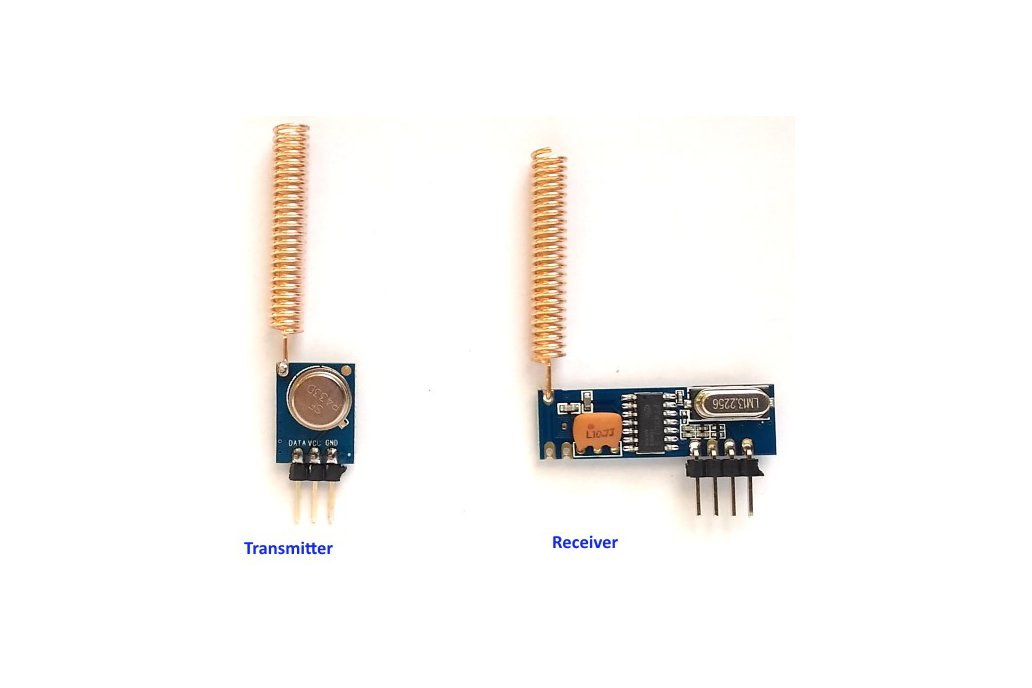 433MHz ASK RF transmitter/receiver kit 4