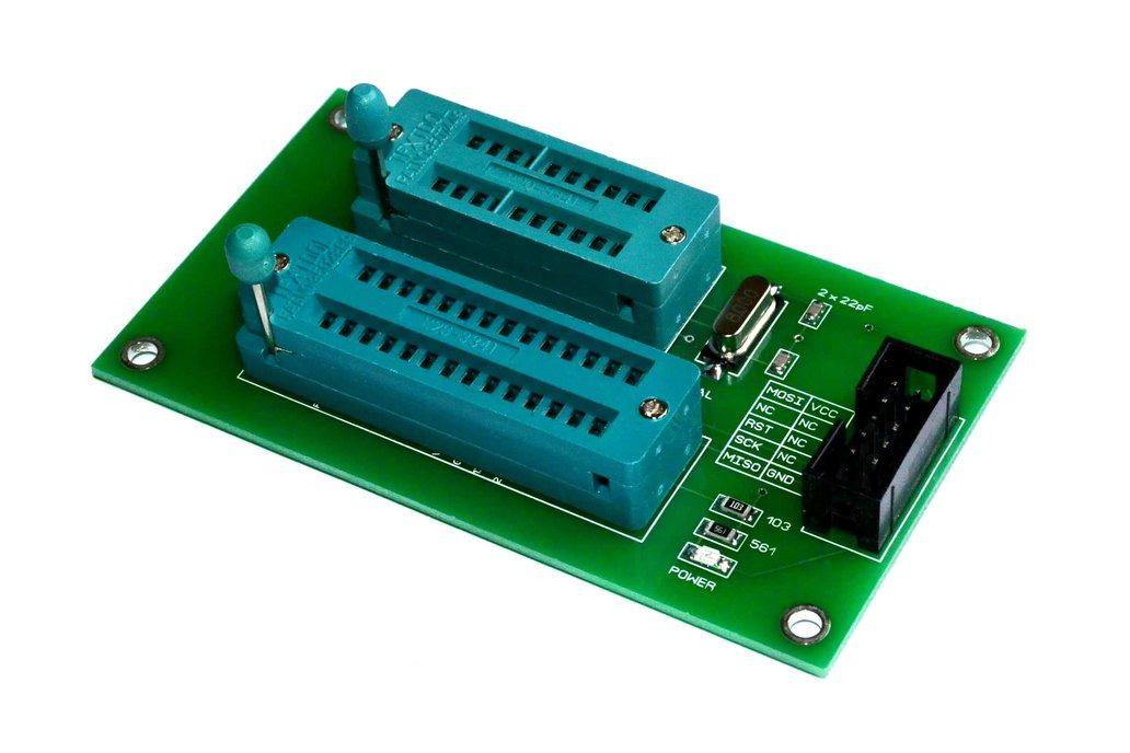 ATMEL ISP Programming Board ATMEGA328P ATTINY2313 1