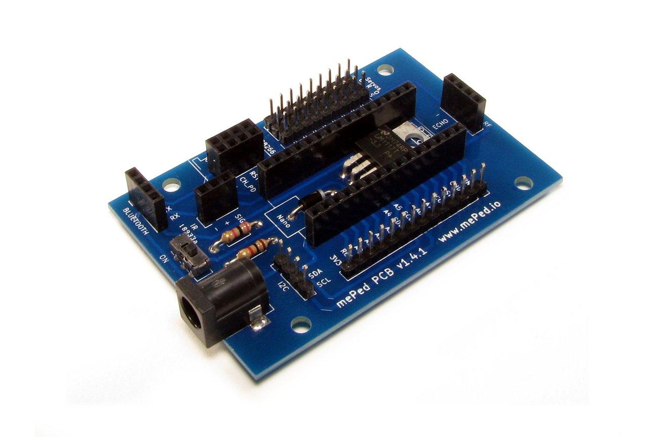 mePed Quadruped Robot PCB