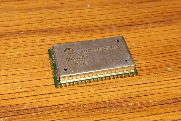 RN2483A 433/868Mhz LoRa LoRaWAN Transceiver Module