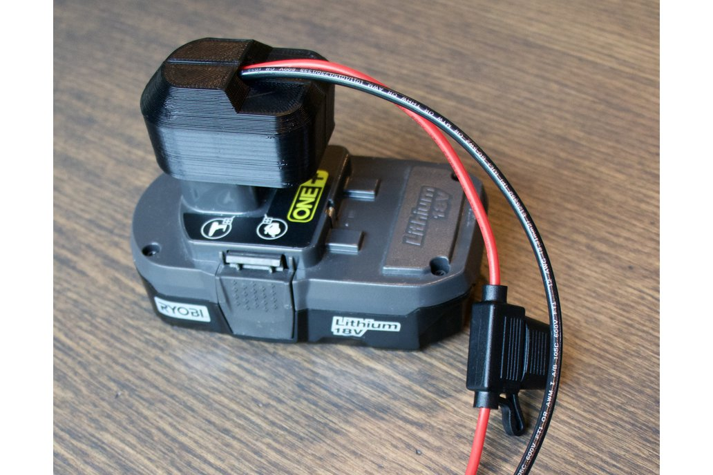 Ryobi Power Supply Adapter with In-line Fuse 1
