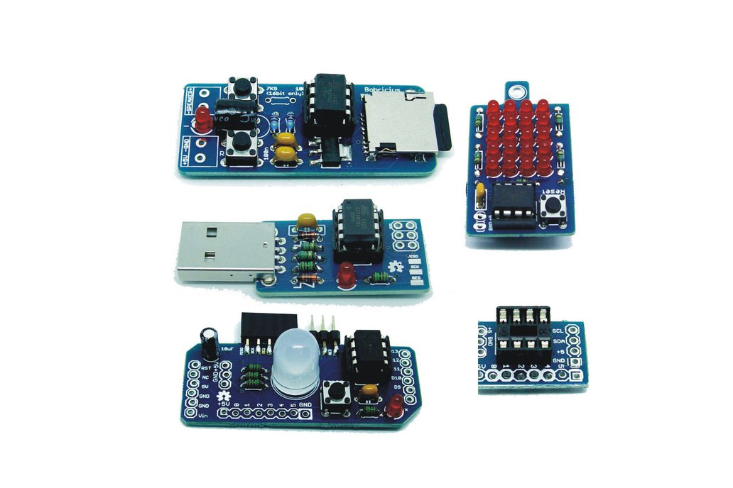 Best PCB collection for begin with AtTiny85 1