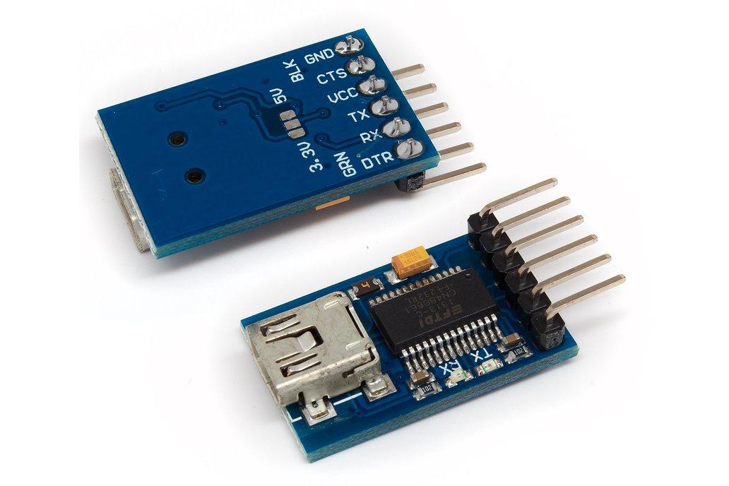FTDI Basic USB to Serial Converter 1