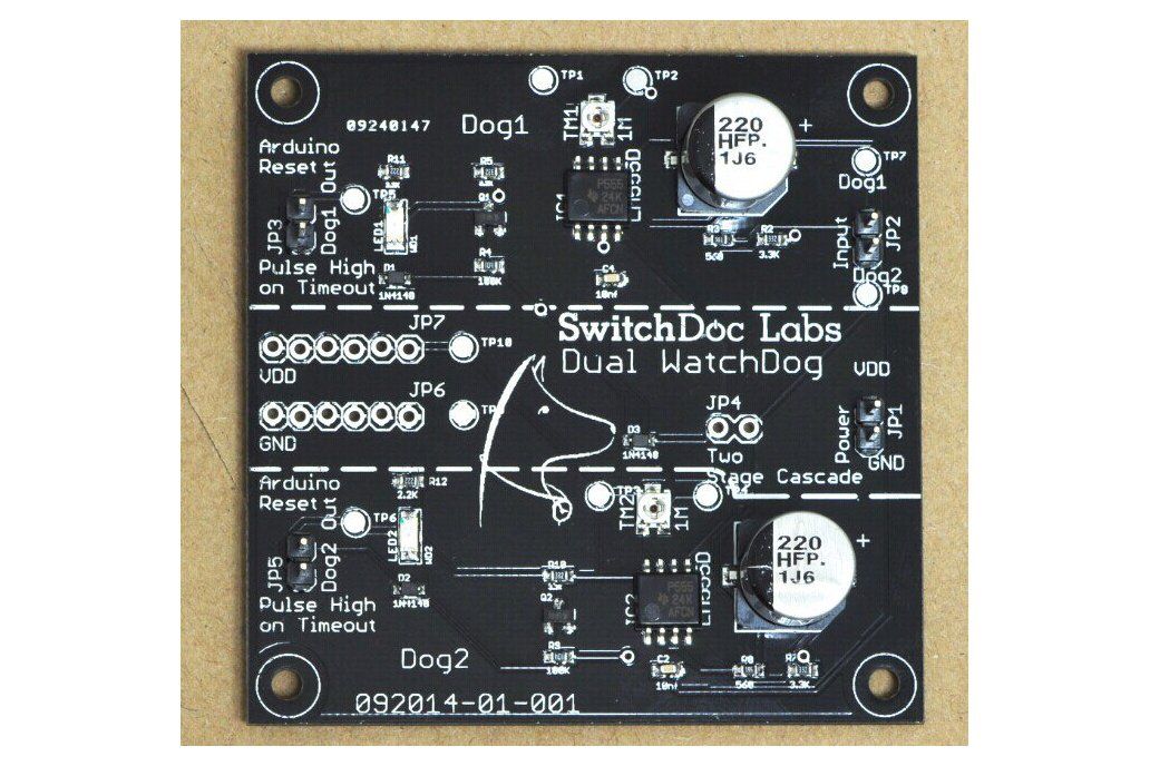 SwitchDoc Labs Dual WatchDog Timer 1