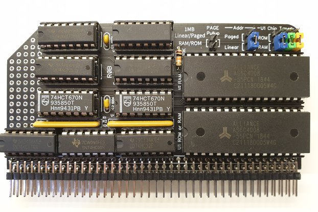 1MB Linear/Paged RAM/ROM Kit for RC2014
