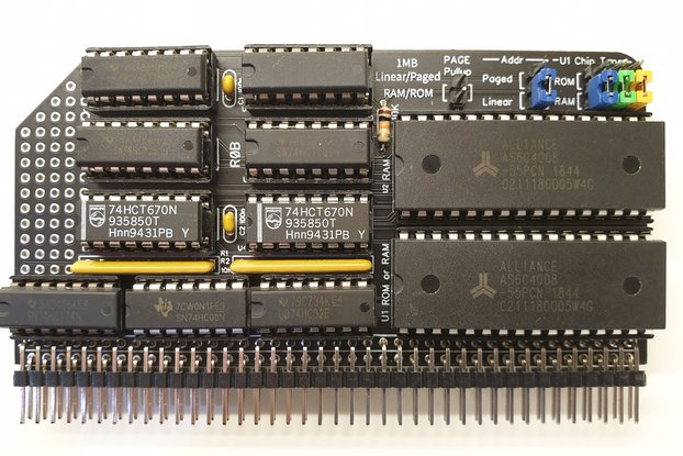 RAMRaider 1MB Linear/Paged RAM/ROM Kit for RC2014