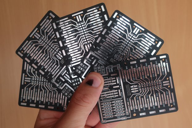 Universal PCB for Prototyping (5 x Boards)