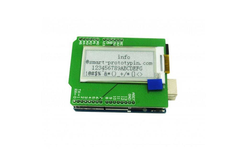 E-ink Shiled E-paper shield for Arduino 2.04 inch 1