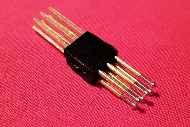 Pogo pins 2x6
