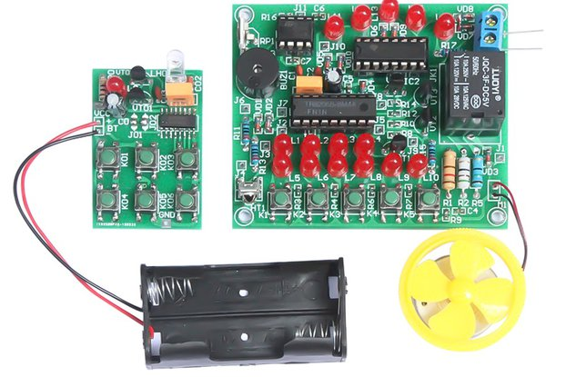 DIY Kit Analog Remote Fan Controller (13820)