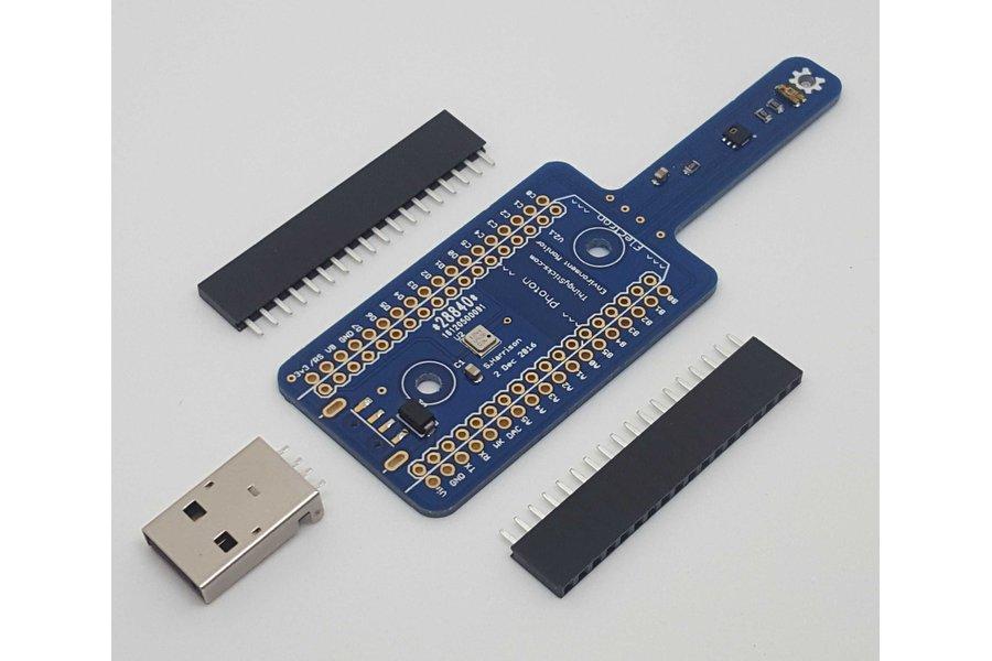 Environment Sensor for the Photon or Electron.