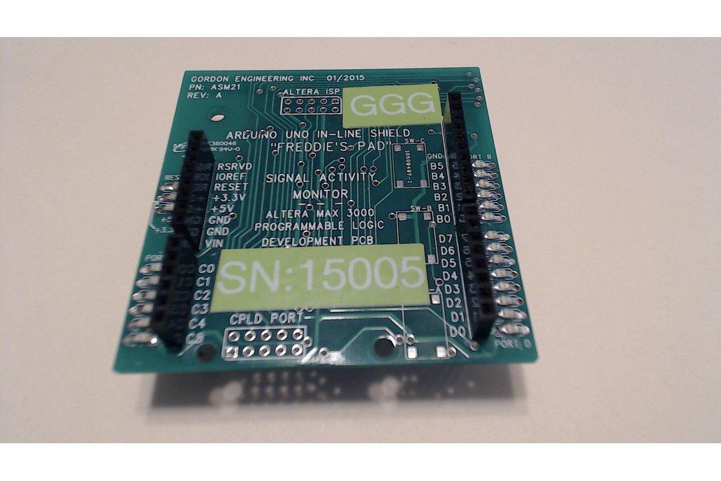 Freddie's Pad: Digital Signal Activity Monitor 1
