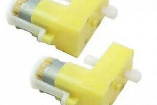 DC TT Motor-Biaxial (4 pcs/pack)