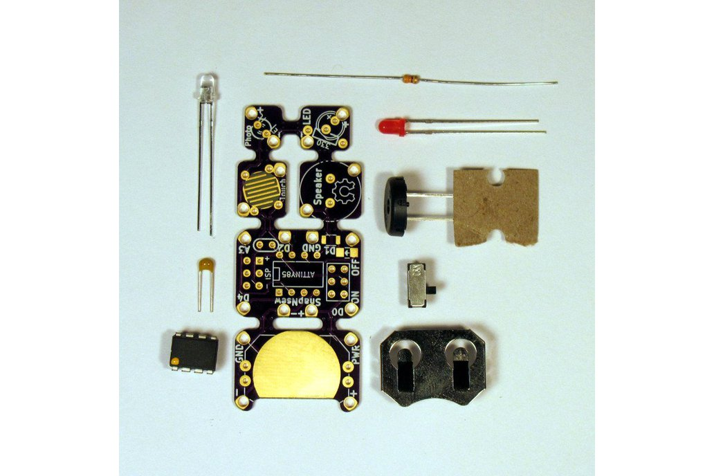 SnapNsew  Kit: A Soft-Circuit / Embedded Platform 2