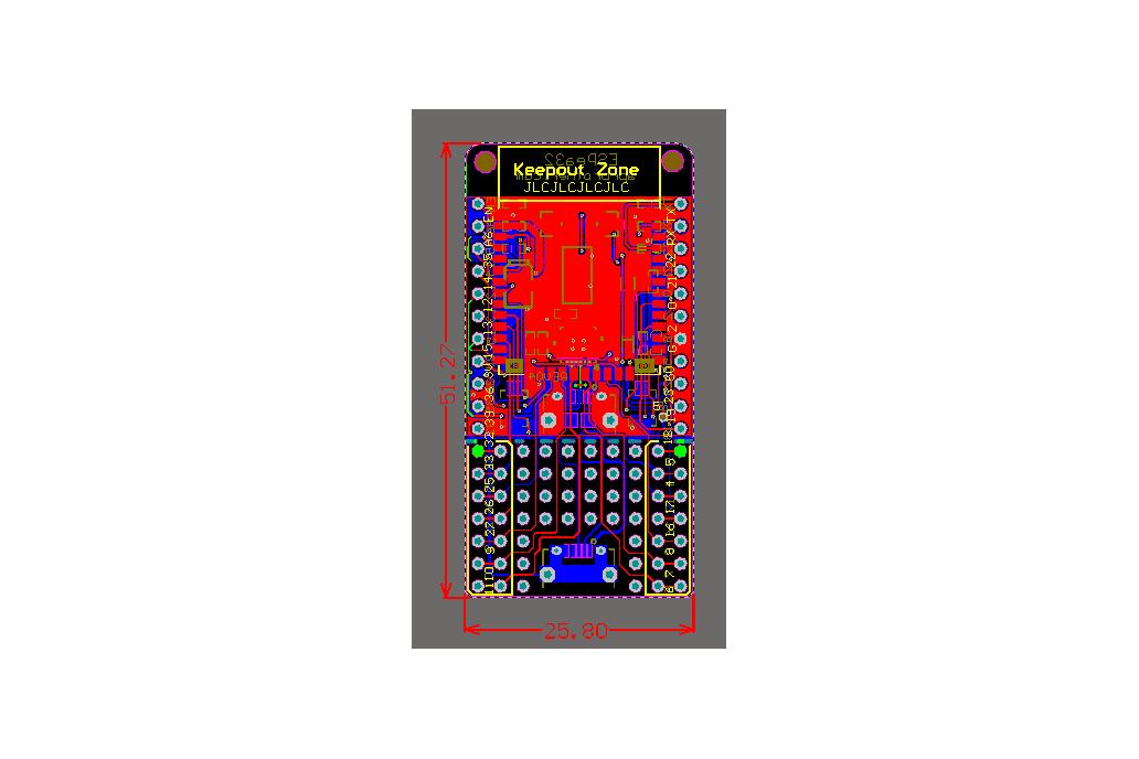 ESPea32 ESP32 Dev Board 6