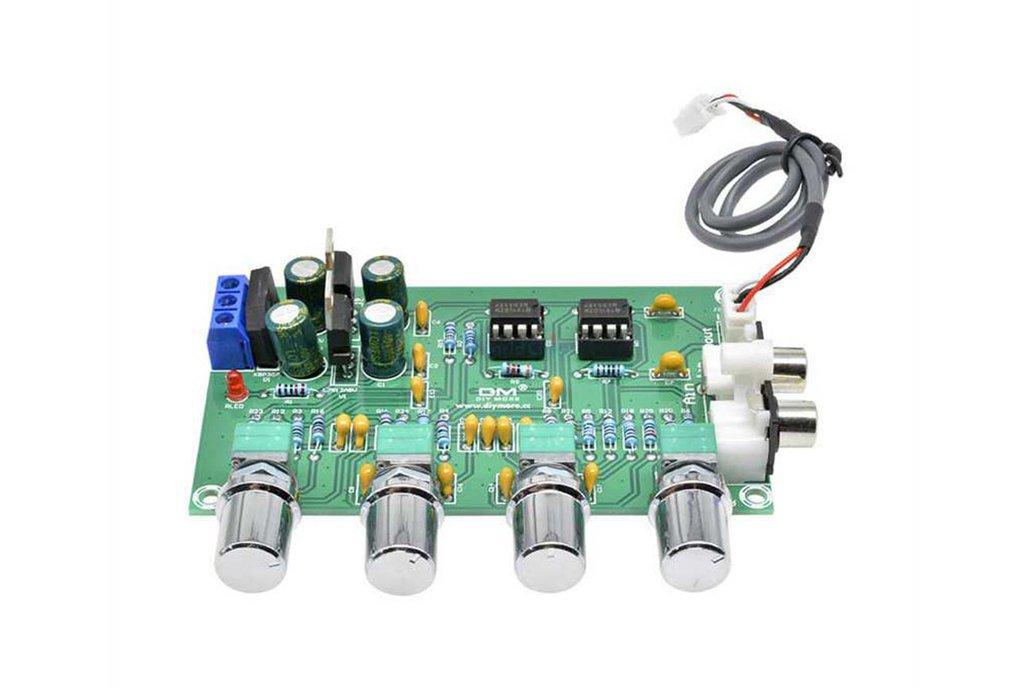 NE5532 Amplifier Board 4 Channels Preamplifier 1