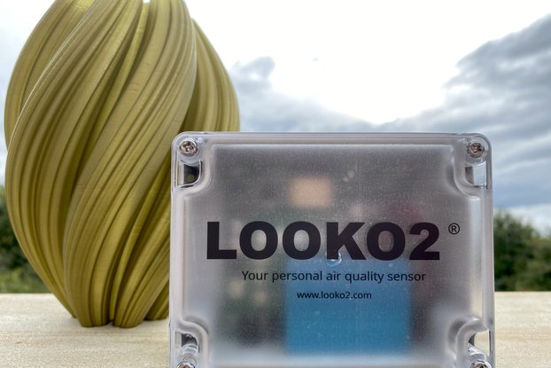 Looko2® Your Personal Air Quality WiFi Sensor