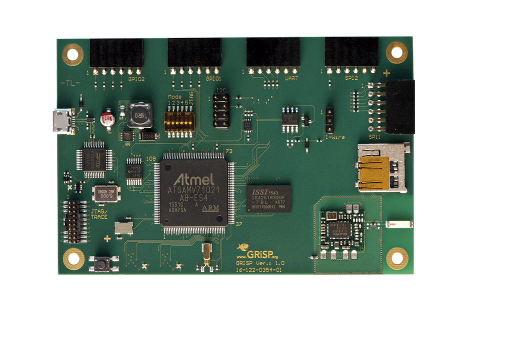 GRiSP-base board with SD Card 1