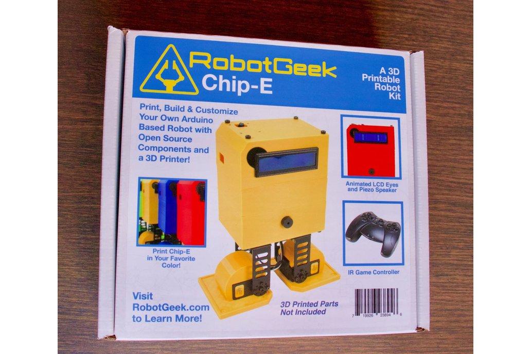 RobotGeek 'Chip-E' Robot Kit 3