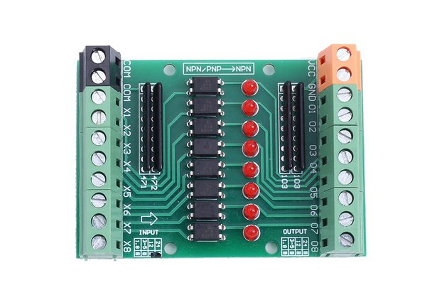8Bit Optocoupler Isolation Module_GY18566