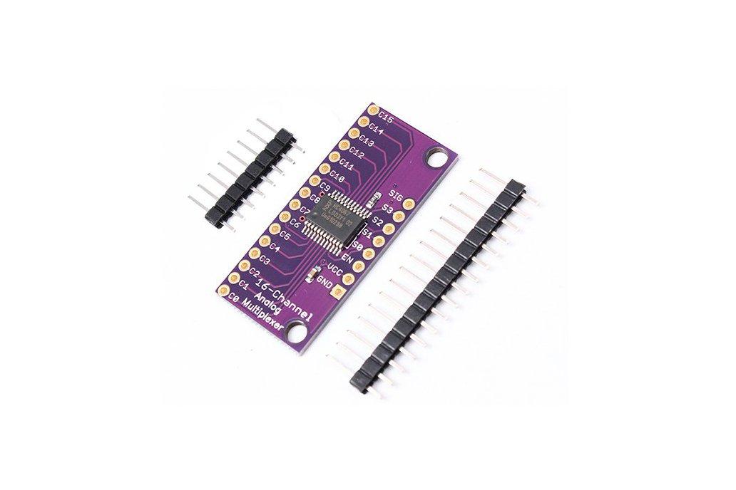 CD74HC4067 Analog Digital MUX Breakout Board(5279) 1