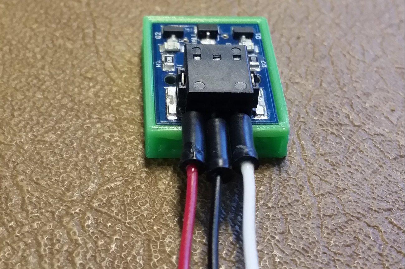 Magnetic Sensor Hall Effect From Solder Filament
