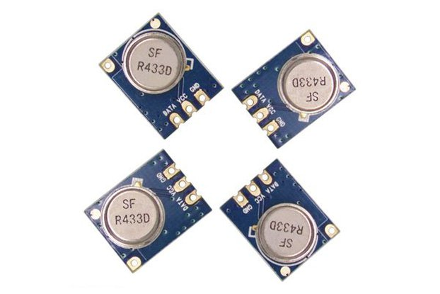 STX882 ASK Transmitter Module (with antenna)