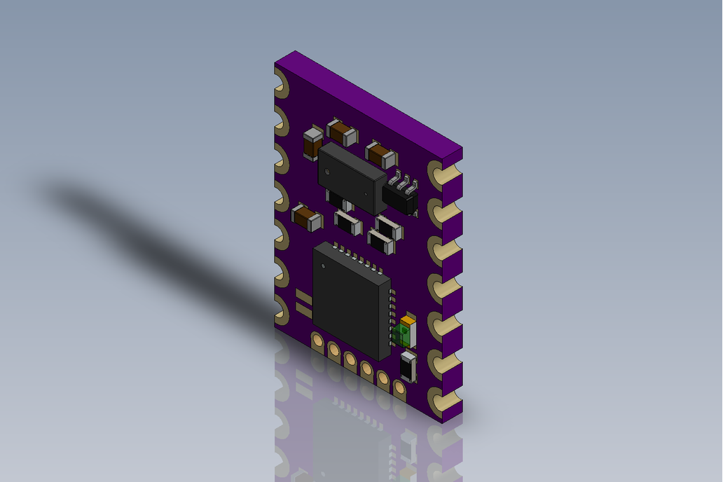 MappyDot: Micro Smart LiDAR Sensor (Vl53L0X) 5